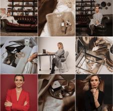 Обработка фото и компановкаленты для личного бренд