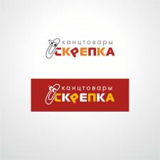 """Логотип  магазина """"Скрепка"""""""