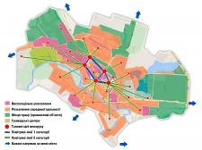 Инфографика карта