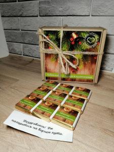 Дизайн упаковки и обвертки шоколада