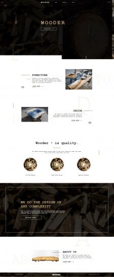 Верстка сайта по PSD макету