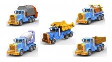 Модель грузовика с разными кузовами