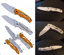 Прототип ножа, 3d печать