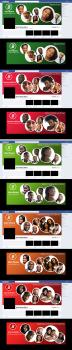 Дизайн баннеров для социальных сетей африки