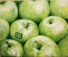 Картина маслом Без ГМО