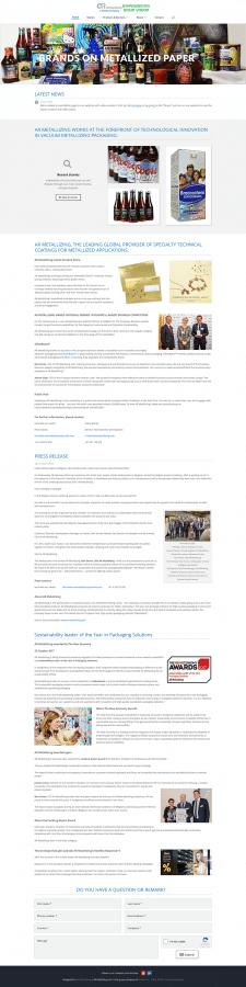 Редизайн веб-сайта