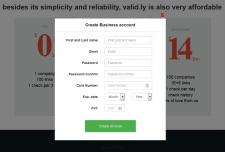 Рег-ция посетителя, Stripe, валидация, API, jQuery