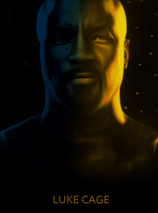 Luke Cage  (арт обработка фотографии)