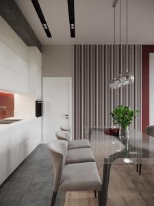 Дизайн интерьера жк Дуэт  г. Днепр 79 кв.м.