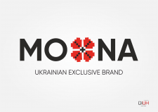 Logo for the brand of Ukrainian exclusive clothing