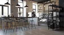 интерьер кофейни buckcoffee
