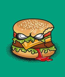 Злой бургер