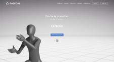 Сайт с 3D моделированием
