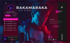 RAKAMARAKA. Young artist's album presentation.