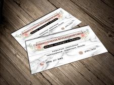 Визитная карточка мастера маникюра и педикюра