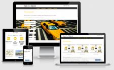 Сайт Яндекс.Такси в Харькове