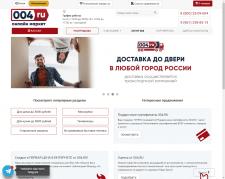 Анализ сайта 004.ru