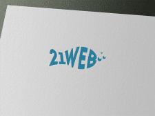 Логотип для веб-студии 21web