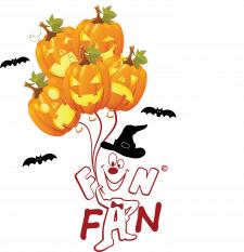 логотип под хэллоуин