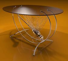 """Дизайнерский столик """"Стрекоза"""""""
