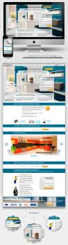 """Дизайн Landing Page """"Продажа модульных кухонь"""""""