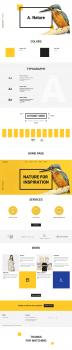 "Website for web design studio ""A. Studio"""