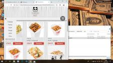"""Интернет-магазин для ресторана """"Тануки"""""""