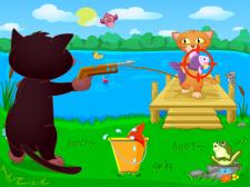Иллюстрации о котах - соперниках