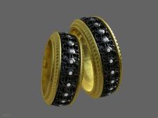 Модели колец для ювелирного дела