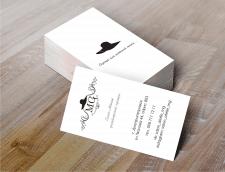 Визитки для салона-ателье дизайнерской одежды