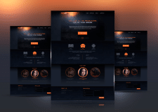 Промо Сайт Презентация