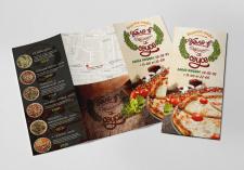 Буклет для пиццерии