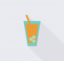 Juice vector icon