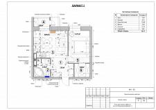 Перепланировка квартиры. Вариант 3