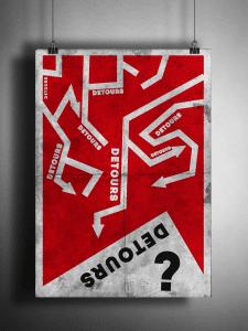 Плакат Тема Обходных путей