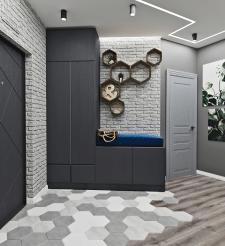 Дизайн-проект прихожей в квартире