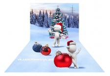 Широкофрматные иллюстрации c эффетом 3d