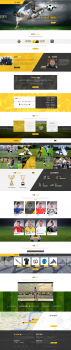 Шаблон для футбольного сайта