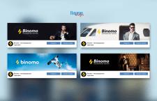Создание обложек для ВКонтакте Binomo