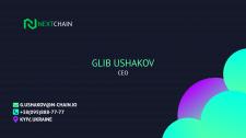 Визитка для сотрудников Next Chain Io