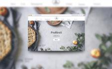 Дизайн сайта для кондитерской