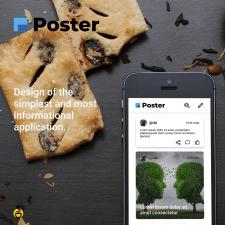 Дизайн интерфейса Poster