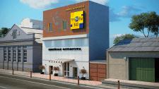 Вариант решения по фасаду Одесса