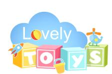 Логотип для интернет-магазина игрушек