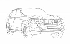 контурное BMW