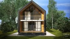 Проект Двухэтажного Дома в г. Томск