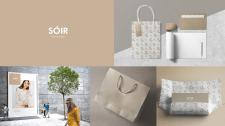 Фирменный стиль бренда Soir