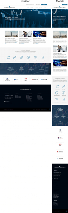Разработка нескольких секций для сайта заказчика