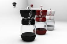 Визуализация дизайна кофемолки