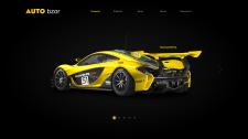Дизайн главной страницы автоблога